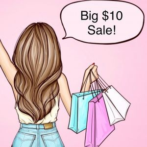 ✅ $10 SALE! LOTS OF ITEMS ON SALE NOW!